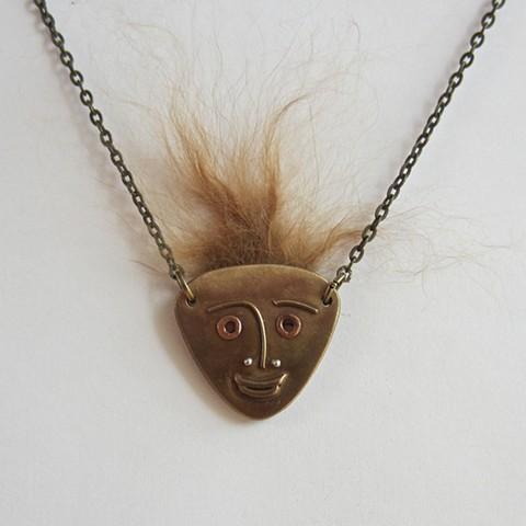 The Beast Within reversible necklace