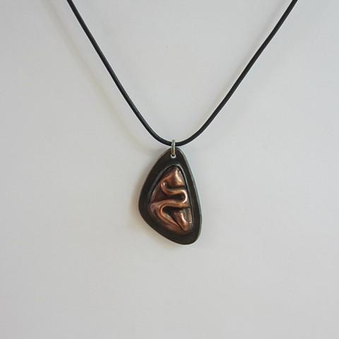 Folds necklace