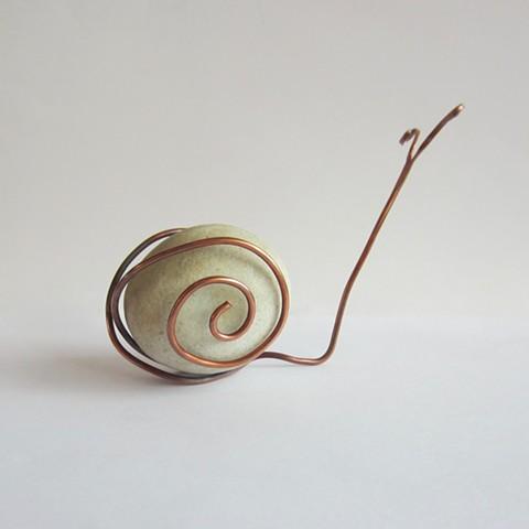 White Rock Snail