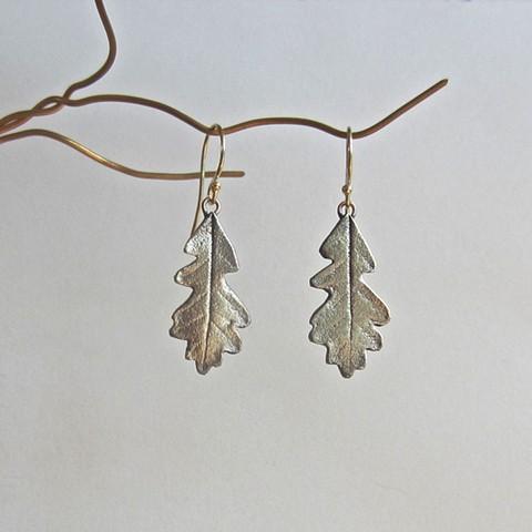 Oak Leaves 1 earrings