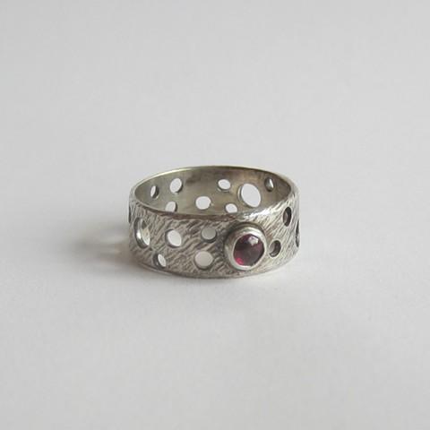 Circles and Ruby ring