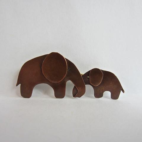 Baby Elephant pin