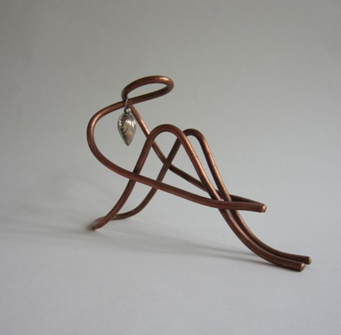 Heavy Heart Wire Figure