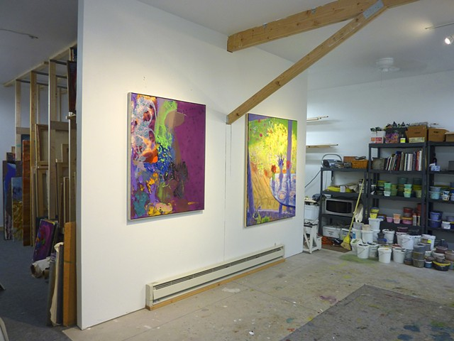 artist studio acrylic new york