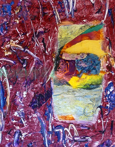 abstract non objective acrylic color field new york