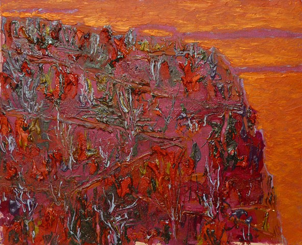 Red Hill, Orange Sky