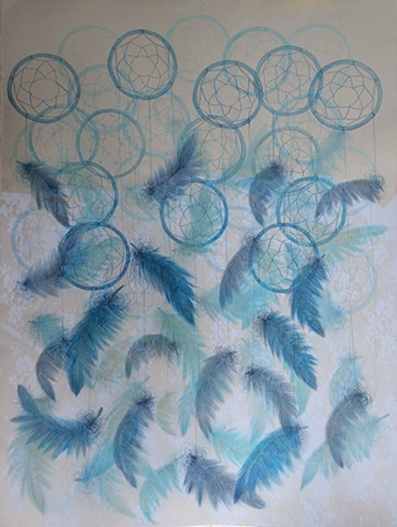 Dreamcatcher in Blue