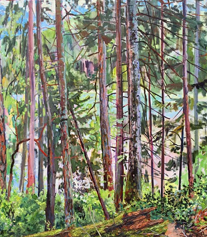 Gordon Smith, plein air, phenomenology, painting, canadian art