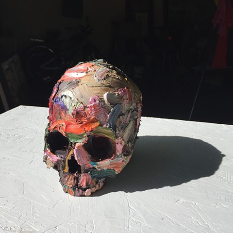 momento mori, still life, painted object