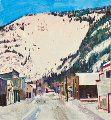 Dawson City, Yukon.  Private Collection