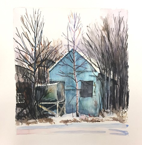 Blue Shack Private Collection.
