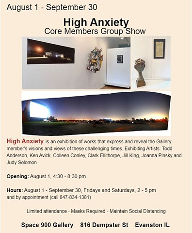 High Anxiety - August-September 2020