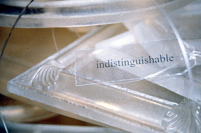 Indistinguishable (detail)