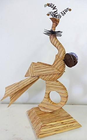 Laminated Plywood Sculpture