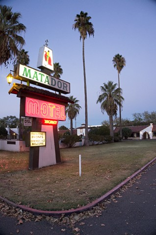 One weekend each May, the Matador Motel in Chico, CA allows artists to convert its retro-style rooms into galleries and installations.