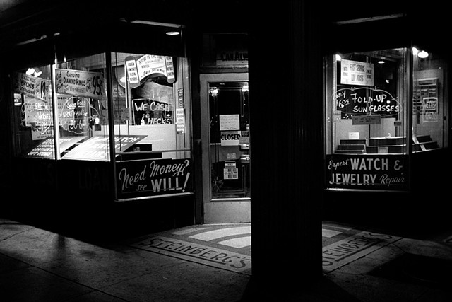 "From the film noir project ""The Pressman Negatives"" by Jason Tannen."