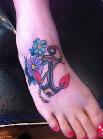 anchor coverup of name