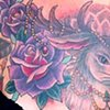 Jackalope and roses coverup