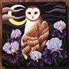 """Night Owl"", acrylic on canvas"