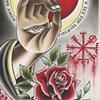 hand eye rose moon