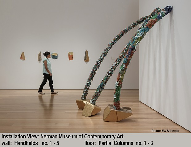 Installation view at Nerman Museum of Contemporary Art, 2014