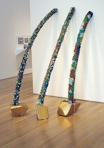Partial Columns Nos. 1 - 3 at Nerman Moca, destroyed