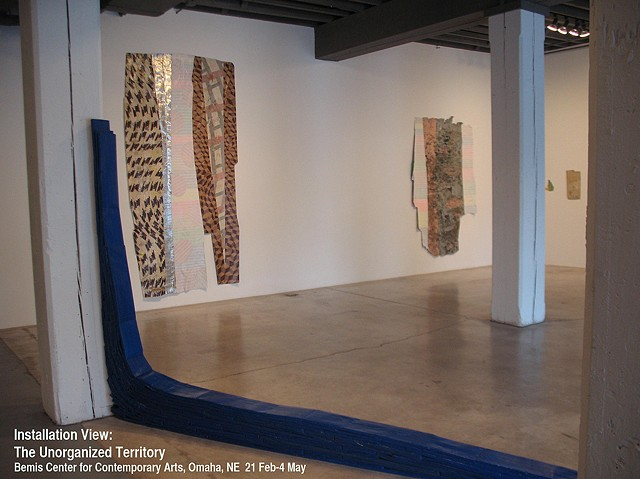 installation view, Bemis Center for Contemporary Art, 2012