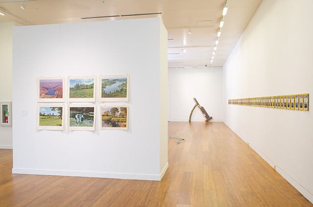 Installation View: Base Materials, Cleve Carney Gallery, College of Dupage, Glen Elyn, Il