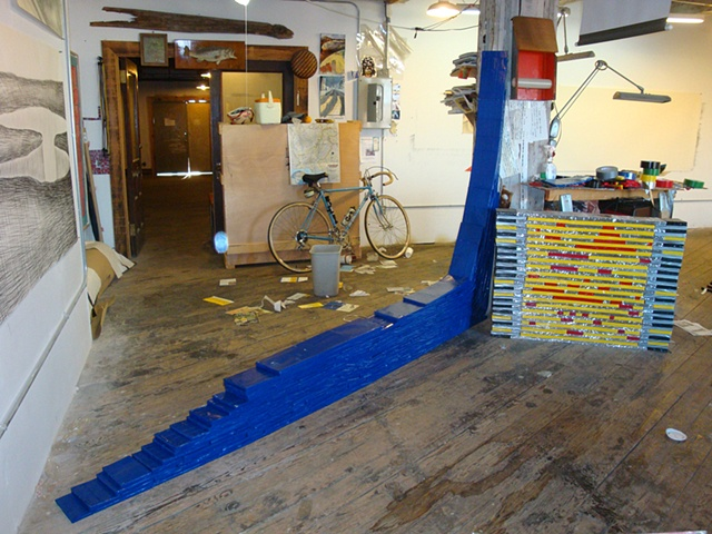 The Blue Ramp studio view  2009