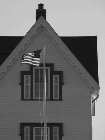 Nubble Lighthouse Flag