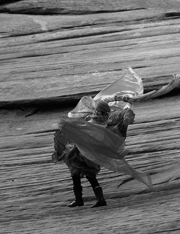 Dancer On The Rocks