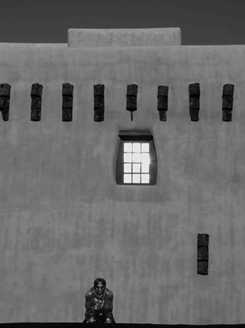 Santa Fe Church Window and Icon