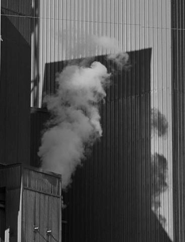Smoke on Building