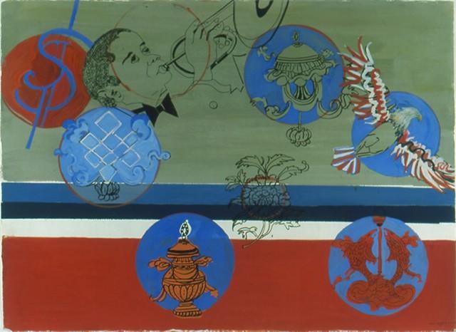 Auspicious symbols 6