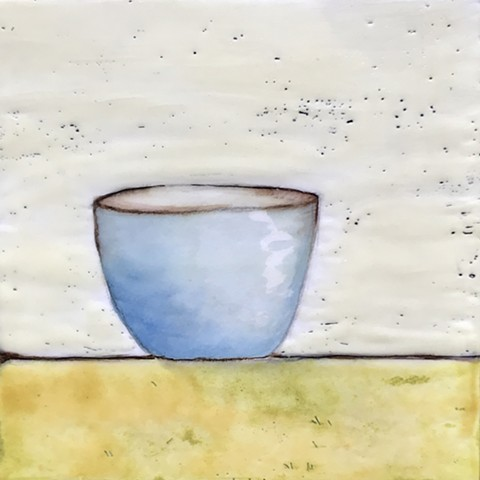 SOLD - Blue Bowl