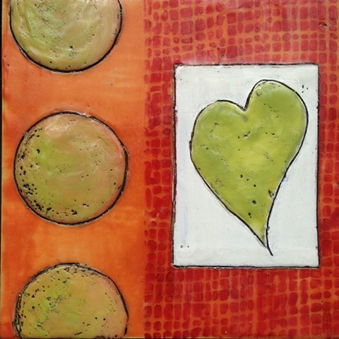 SOLD - Green Heart
