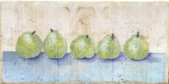 SOLD: Five Pears