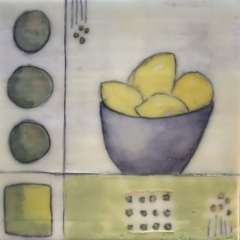 SOLD Bowl of Lemons - Mini Series