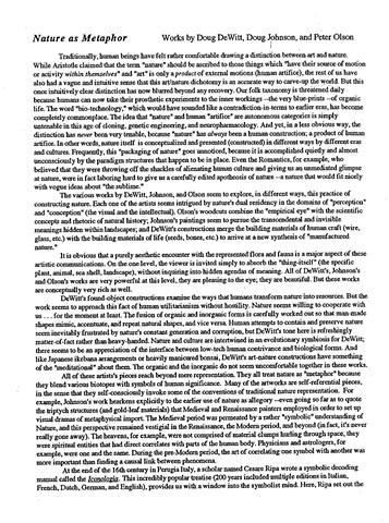 Stephen T. Asma Essay page 1- 1999