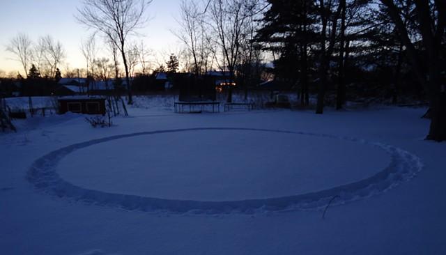 Snow Circle #2