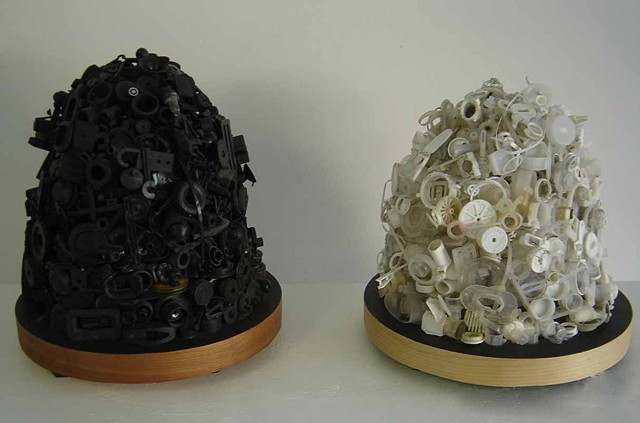 Black Hive and White Hive