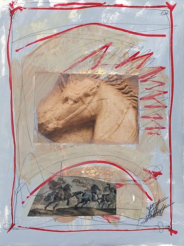 Italian Notebook Series  il cavallo #4