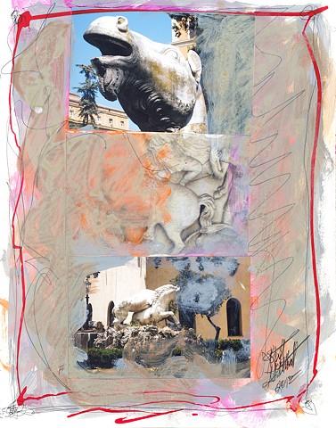 Italian Notebook Series  il cavallo #3