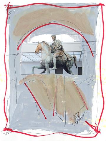 Italian Notebook Series  il cavallo #9