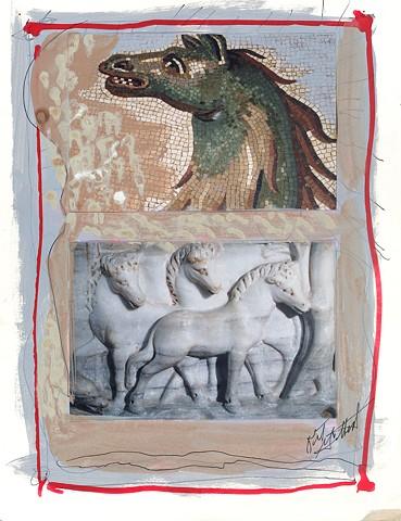 Italian Notebook Series  il cavallo #2