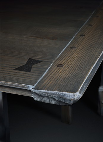 Table and Benches Detail