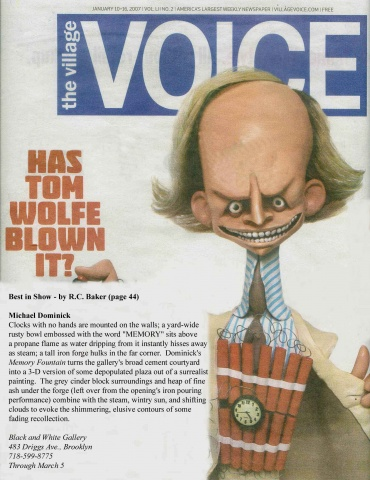 "Village Voice - ""Memory Fountain"" (Best in Show)"