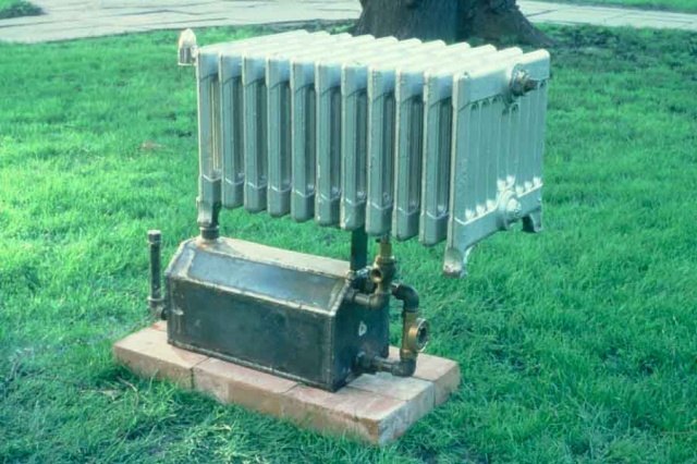 UK Radiator Sculpture