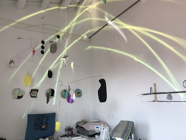 Mobiles in the studio