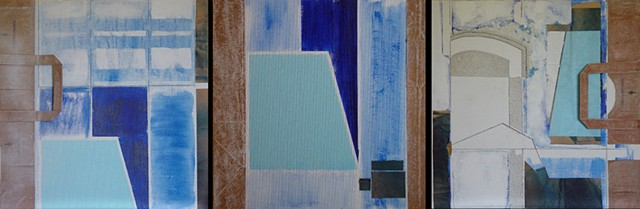 View from the Studio Diptych # 2